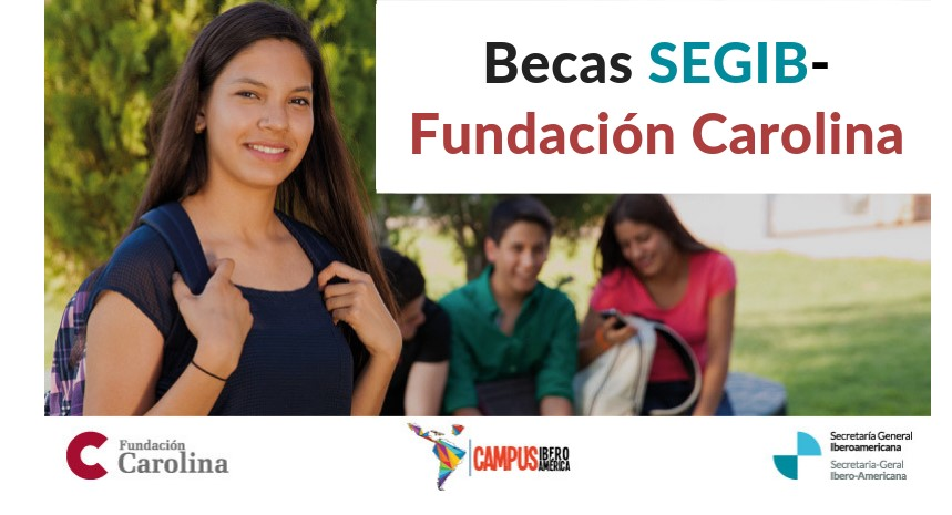 jóvenes estudiantes iberoamérica becas