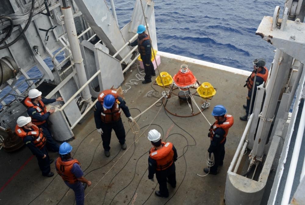 barco, investigadores cambio climático océano Atlántico Sur