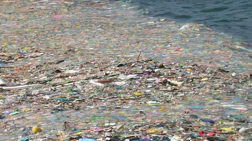 océano, plástico, contaminación